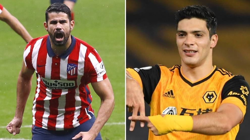 Diego Costa could replace Raul Jimenez at Wolves - Bóng Đá